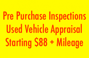 Pre purchase inspections at low cost